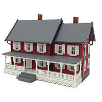 Model-Power Stevensons House Built-Up O Scale Model Railroad Building #6375