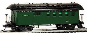 Model-Power 1890 Wooden-Type Combine Santa Fe (Re-Issue) HO Scale Model Train Passenger Car #716110