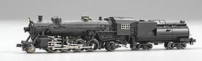Model-Power USRA Light 2-8-2 Mikado w/ Tender Undecorated N Scale Model Train Steam Locomotive #7590