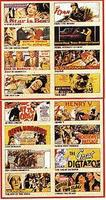 Model-Power Older Era 1924-1940 Movie Posters (8 Pack) N Scale Model Railroad Building Accessory #8577