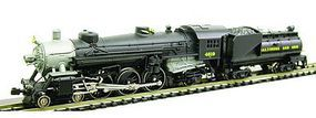 Model-Power 4-6-2 Loco with Vandy Tender Baltimore & Ohio N Scale Model Train Steam Locomotive #87471