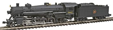 Model Power USRA 2-8-2 Mikado Canadian National -- N Scale Model Train Steam Locomotive -- #87576