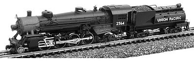 Model Power 2-8-2 Mikado w/Vandy Coal Tender DCC/Sound UP -- N Scale Model Train Steam Locomotive -- #875921