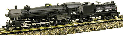 Model Power Southern Pacific USRA 2-8-2 Mikado -- N Scale Model Train Steam Locomotive -- #875931