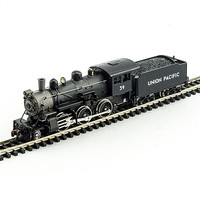 Model-Power 2-6-0 Mogul DCC/Sound Union Pacific N Scale Model Train Steam Locomotive #876161