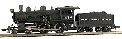 Model Power 4-4-0 American NYC DCC with Sound -- N Scale Model Train Steam Locomotive -- #876301