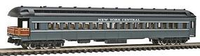 Model-Power Heavyweight Observation New York Central (gray) N Scale Model Train Passenger Car #88618