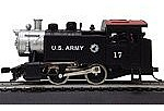 Model Power 0-4-0 Loco US Army -- HO Scale Model Train Steam Locomotive -- #96513
