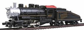 Model-Power 0-4-0 Shifter w/Tender Powered Canadian National HO Scale Model Train Steam Locomotive #96632