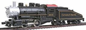 Model-Power 0-4-0 Shifter w/Tender Powered Canadian Pacific HO Scale Model Train Steam Locomotive #96633