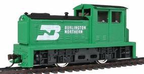 Model-Power DDT Plymouth Industrial DC Burlington Northern HO Scale Model Train Diesel Locomotive #96669
