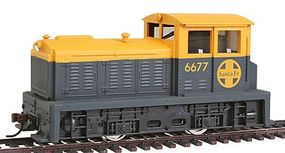 Model-Power Diesel DDT Plymouth Industrial A.T.S.F. (Powered) HO Scale Model Railroad Locomotive #96670