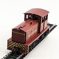 Model-Power DDT Plymouth Diesel Pennsylvania HO Scale Model Railroad Locomotive #96682
