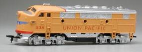 Model-Power F2-A Dual Drive, Powered w/Light - Union Pacific HO Scale Model Train Diesel Locomotive #96803