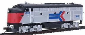 Model-Power F2A Lighted Amtrak #103 HO Scale Model Train Diesel Locomotive #96806