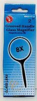 Magnifiers 2 Round Glass Magnifier 8x Power