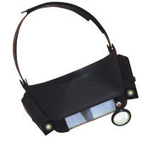 Magnifiers Lighted Dual Lens Headband Magnifier 1.8x, 2.3x, 3.7x & 4.8x Power (Cd)