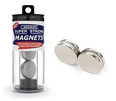 Magcraft 1x1/8 Rare Earth Disc Magnets (4)