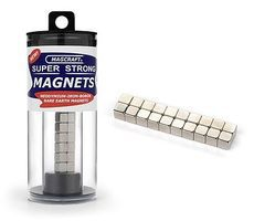 Magcraft 1/4 Rare Earth Cube Magnets (20)