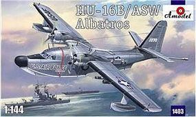 A-Model-From-Russia HU16B/ASW Albatros USAF Amphibian Aircraft Plastic Model Airplane Kit 1/144 Scale #1403