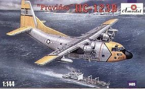 A-Model-From-Russia HC123B Provider USAF Cargo Aircraft Plastic Model Airplane Kit 1/144 Scale #1405