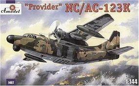 A-Model-From-Russia NC/AC123K Provider USAF Aircraft Plastic Model Airplane Kit 1/144 Scale #1407