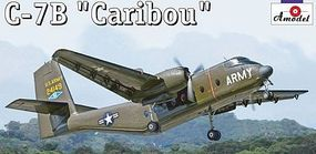 A-Model-From-Russia C7B Caribou Cargo Aircraft Plastic Model Airplane Kit 1/144 Scale #1412