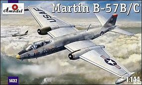 A-Model-From-Russia Martin B57B/C Aircraft Plastic Model Airplane Kit 1/144 Scale #1432