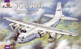 A-Model-From-Russia JC130A Hercules USAF Transport Aircraft Plastic Model Airplane Kit 1/144 Scale #1439