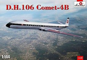 A-Model-From-Russia DH106 Comet 4B Commercial Jetliner Plastic Model Airplane Kit 1/144 Scale #1448