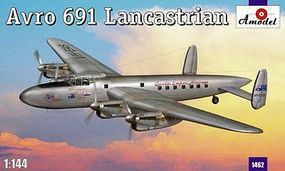 A-Model-From-Russia Avro 691 Lancastrian Passenger/Transporter Plastic Model Airplane Kit 1/144 Scale #1462
