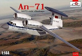 A-Model-From-Russia An71 NATO Code Madcap AWACS Aircraft Plastic Model Airplane Kit 1/144 Scale #1475