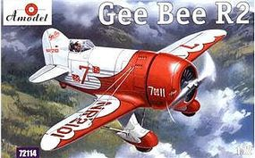 A-Model-From-Russia Gee Bee Super Sportster R2 Aircraft Plastic Model Airplane Kit 1/72 Scale #72114