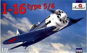 A-Model-From-Russia I16 Type 5/6 Soviet Fighter Plastic Model Airplane Kit 1/72 Scale #72123