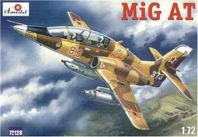 A-Model-From-Russia Mig-AT Late Russian Modern 2-Seater Trainer Plastic Model Airplane Kit 1/72 Scale #72128