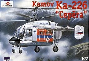 A-Model-From-Russia Kamov Ka226 Serega Russian Rescue Helicopter Plastic Model Helicopter Kit 1/72 Scale #72129
