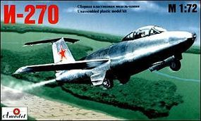 A-Model-From-Russia I270 Russian Jet Plastic Model Airplane Kit 1/72 Scale #7212