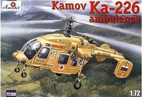A-Model-From-Russia Kamov Ka226 Soviet Ambulance Helicopter Plastic Model Helicopter Kit 1/72 Scale #72130