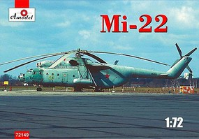 A-Model-From-Russia 1/72 Mil Mi22 Military Cargo Helicopter (New Tool)
