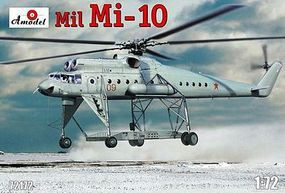 A-Model-From-Russia Mil Mi10 Helicopter Plastic Model Helicopter Kit 1/72 Scale #72172