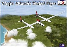 A-Model-From-Russia Virgin Atlantic Global Flyer Aircraft Plastic Model Airplane Kit 1/72 Scale #72189