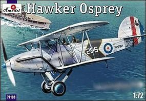 A-Model-From-Russia Hawker Osprey Mk I British Naval Recon BiPlane Plastic Model Airplane Kit 1/72 Scale #72193