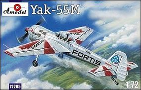 A-Model-From-Russia Yak55M Fortis Aircraft Plastic Model Airplane Kit 1/72 Scale #72205