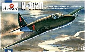 A-Model-From-Russia I302 Rocket-Propelled Interceptor Plastic Model Airplane Kit 1/72 Scale #7220