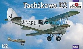 A-Model-From-Russia Tachikawa KS Japanese BiPlane Plastic Model Airplane Kit 1/72 Scale #72236