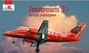 A-Model-From-Russia Jetstream 31 British Aerospace Aircraft (New Tool) Plastic Model Airplane Kit 1/72 #72238