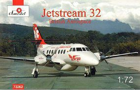 A-Model-From-Russia Jetstream 32 British Airliner Plastic Model Airplane Kit 1/72 Scale #72262