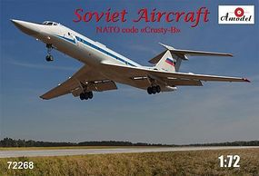 A-Model-From-Russia Tu134UBL NATO Code Crusty-B Soviet Aircraft Plastic Model Airplane Kit 1/72 Scale #72268