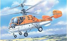 A-Model-From-Russia Kamov KA15M Soviet Helicopter Plastic Model Helicopter Kit 1/72 Scale #7256