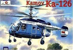 A-Model-From-Russia Kamov Ka126 Soviet Light Helicopter Plastic Model Helicopter Kit 1/72 Scale #7272